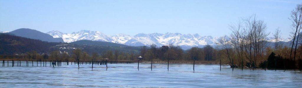 Lac du Bourget et montagne Rhôn'Ô lac -Lac du Bourget - rhonolac Chambéry Le Bourget canoë kayak