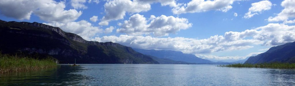 Canal de Savières coté lac du Bourget