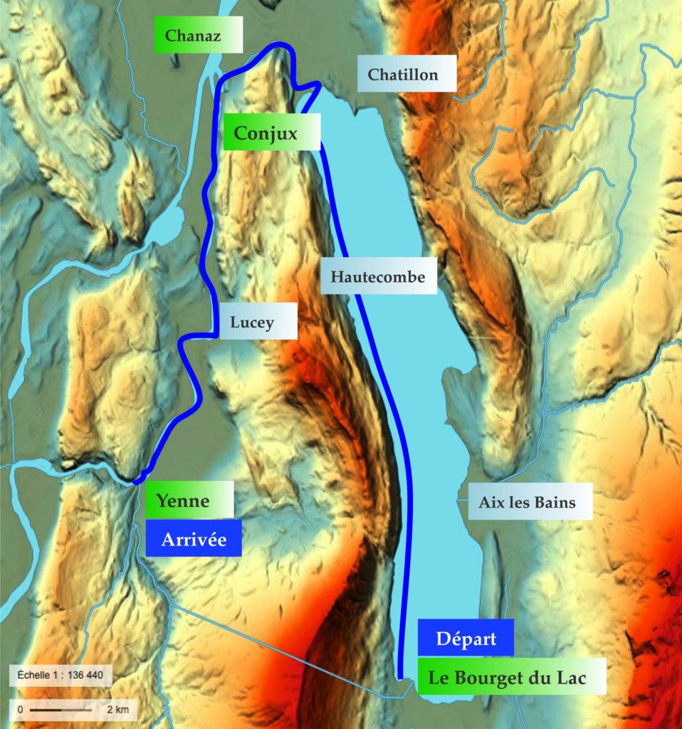 Parcours Rhôn'Ô Lac 2021